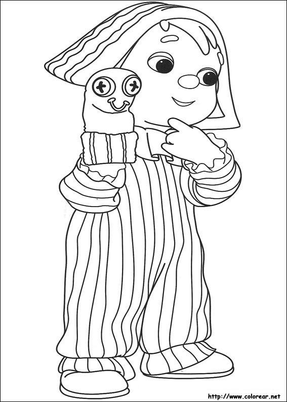 Coloriage et dessins gratuits Andy Pandy 20 à imprimer
