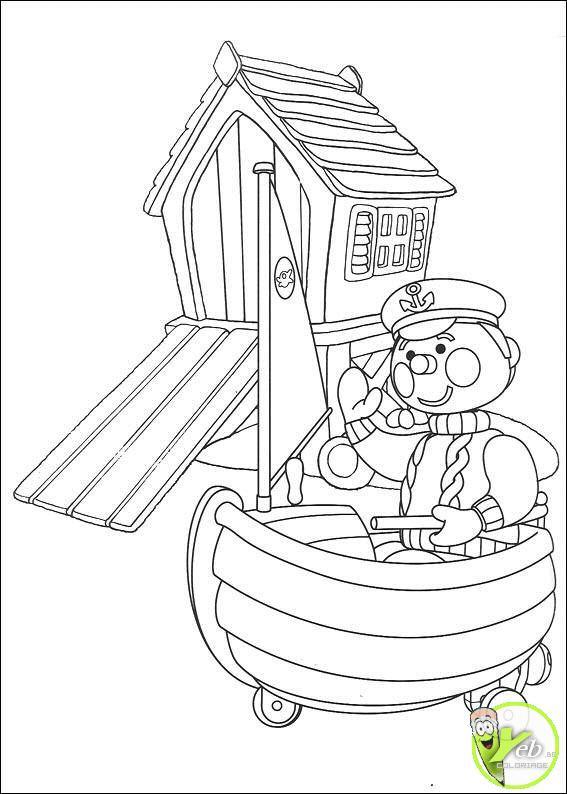 Coloriage et dessins gratuits Andy Pandy 3 à imprimer