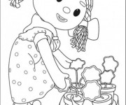 Coloriage Andy Pandy: Looby Lo