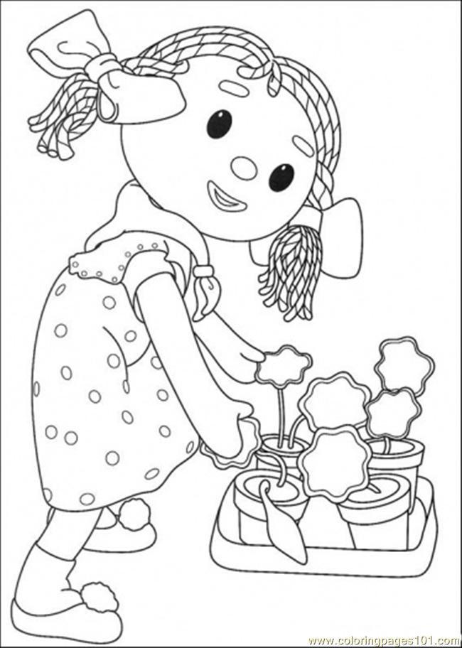 Coloriage et dessins gratuits Andy Pandy: Looby Lo à imprimer