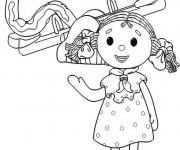 Coloriage et dessins gratuit Looby Lo entrain de jouer à imprimer