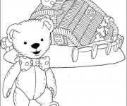 Coloriage Teddy Andy Pandy