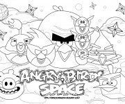 Coloriage Angry Birds 12