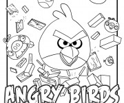 Coloriage Angry Birds 15