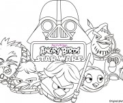 Coloriage Angry Birds 17