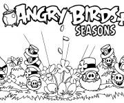 coloriage et dessins gratuit angry birds imprimer - Angry Birds Gratuit