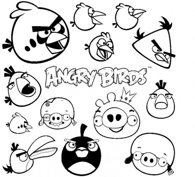 Coloriage angry birds en couleur dessin gratuit imprimer - Telecharger angry birds gratuit ...