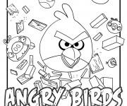 Coloriage Angry Birds magique
