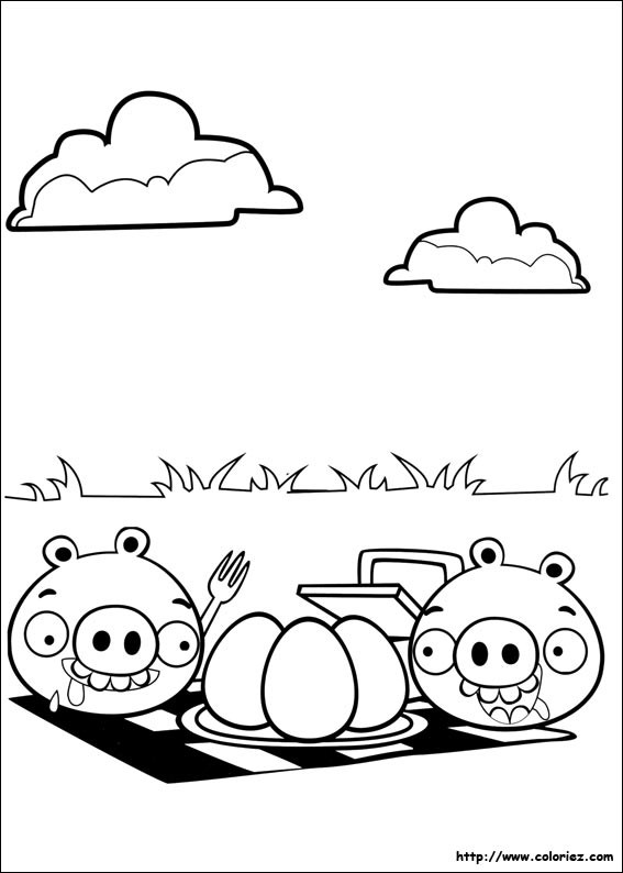 Coloriage et dessins gratuits Angry Birds Movie à imprimer