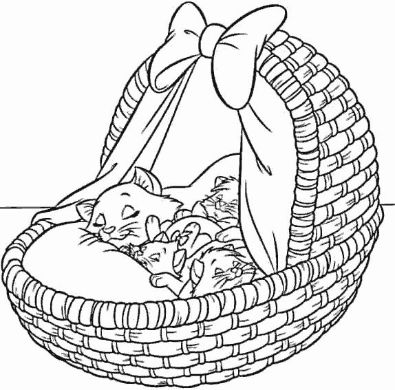 Coloriage et dessins gratuits Aristochats à imprimer