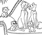 Coloriage Aristochats disney