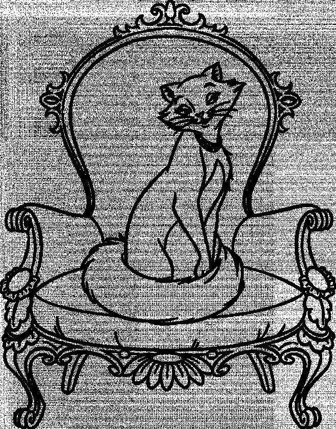 Coloriage et dessins gratuits Aristochats: Duchesse à imprimer