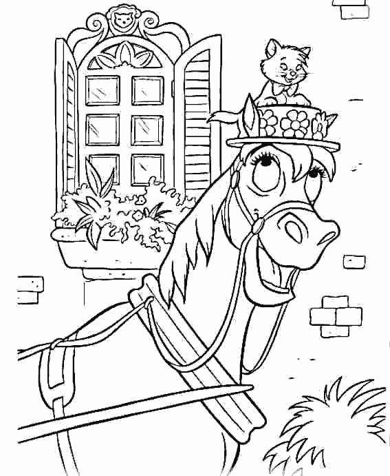 Coloriage et dessins gratuits Aristochats en ligne à imprimer