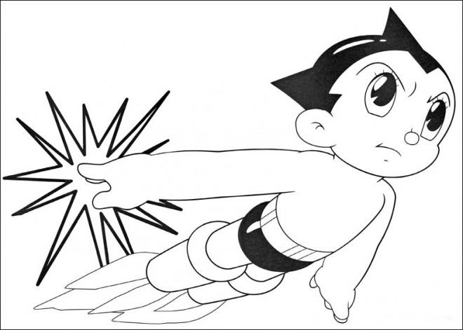 Coloriage et dessins gratuits Astro boy à imprimer