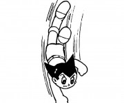 Coloriage Astro boy facile