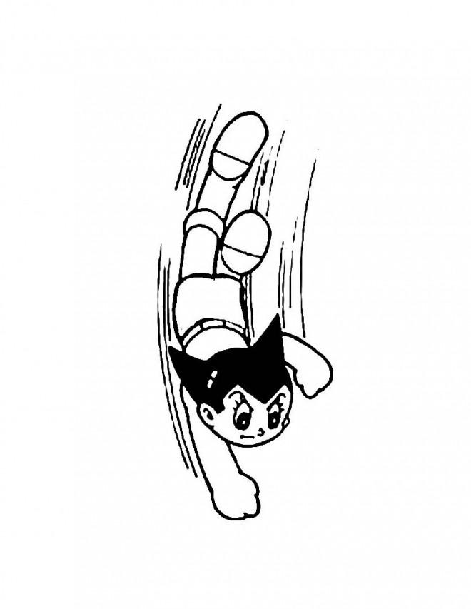 Coloriage et dessins gratuits Astro boy facile à imprimer