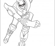 Coloriage Astro boy: robot 2