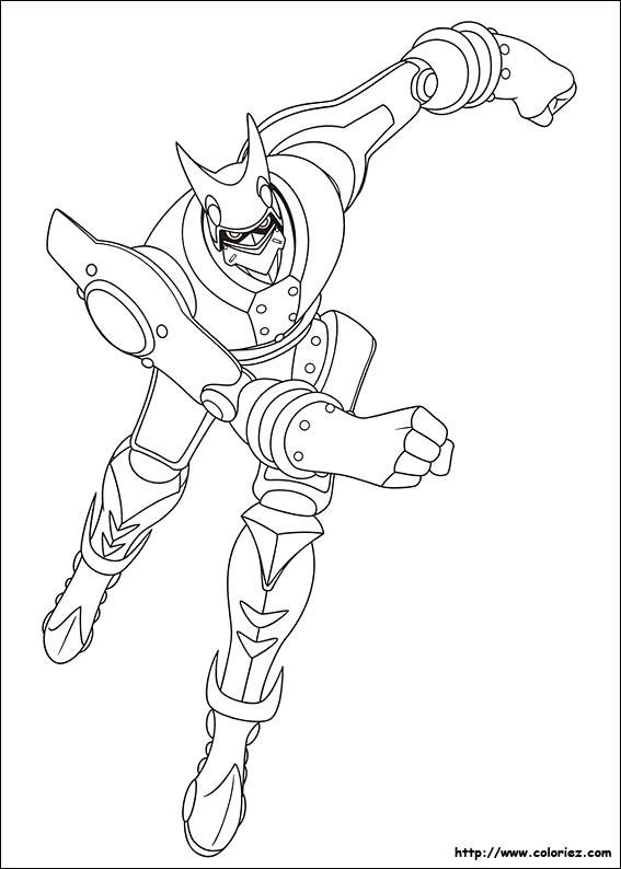 Coloriage et dessins gratuits Astro boy: robot 2 à imprimer