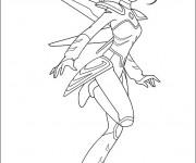 Coloriage Astroboy: La fille robot