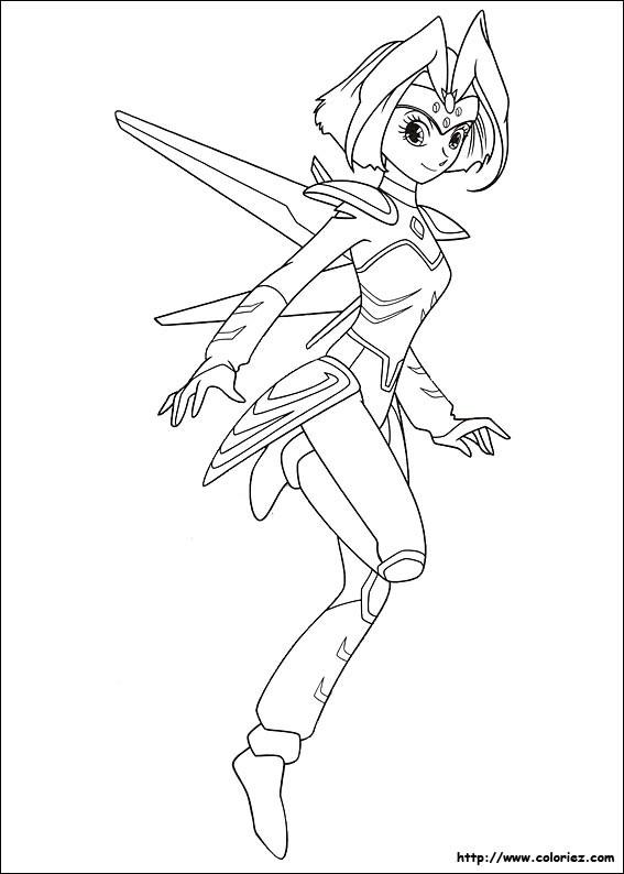 Coloriage et dessins gratuits Astroboy: La fille robot à imprimer