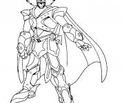Coloriage Le géant robot: Astroboy