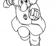Coloriage et dessins gratuit Professeur : Astroboy à imprimer
