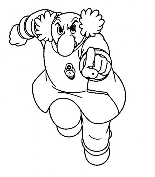 Coloriage et dessins gratuits Professeur : Astroboy à imprimer