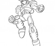 Coloriage Robot  Astro boy