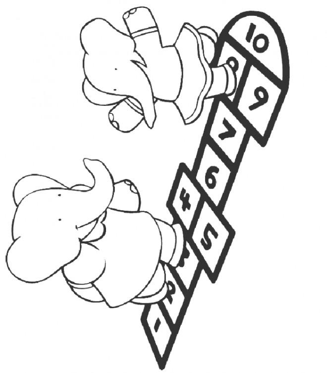 Coloriage et dessins gratuits Isabelle et Flore à imprimer