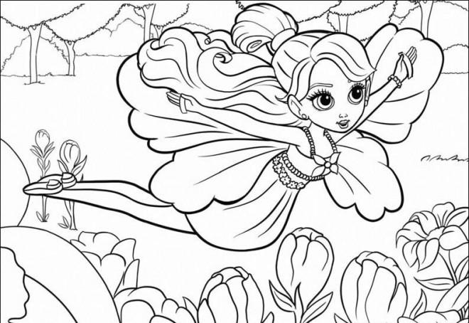 Coloriage et dessins gratuits Barbie 67 à imprimer