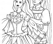 Coloriage Barbie et Ken