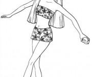Coloriage et dessins gratuit Barbie gratuit à imprimer à imprimer
