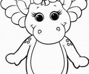 Coloriage et dessins gratuit Baby Bop à imprimer