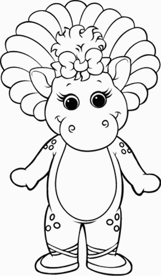Coloriage et dessins gratuits Baby Bop à imprimer