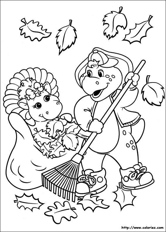 Coloriage et dessins gratuits BJ et Baby Bop à imprimer