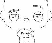 Coloriage et dessins gratuit Bébé Boss Kawaii à imprimer