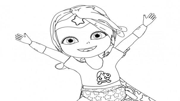 Coloriage et dessins gratuits Bebe Lilly à imprimer à imprimer