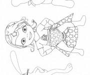 Coloriage bebe lilly à imprimer gratuit