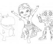 Coloriage et dessins gratuit Bebe Lilly en ligne à imprimer