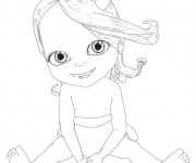 Coloriage Bebe Lilly gratuit