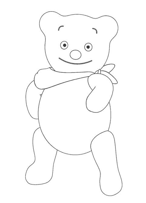 Coloriage et dessins gratuits Bebe Lilly jouet à imprimer