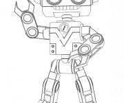 Coloriage Bébé Lilly robot