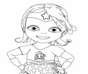 Coloriage Coloriage de Bebe Lilly à imprimer