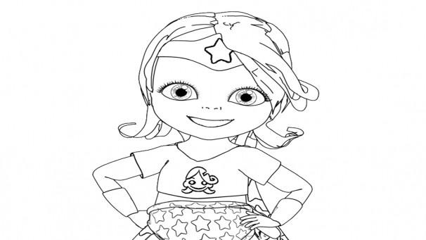 Coloriage et dessins gratuits Coloriage de Bebe Lilly à imprimer à imprimer
