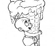 Coloriage et dessins gratuit La petite Bébé Lilly à imprimer