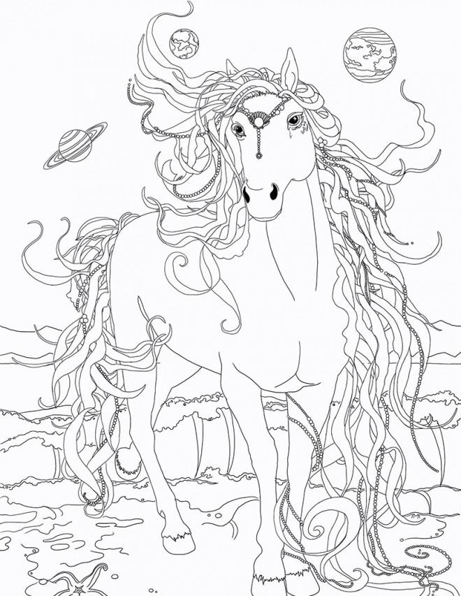 Coloriage et dessins gratuits Bella Sara à colorier à imprimer