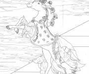 Coloriage et dessins gratuit Bella Sara Carnival de printemps à imprimer