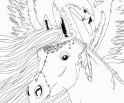 Coloriage et dessins gratuit Bella Sara Fiona à imprimer