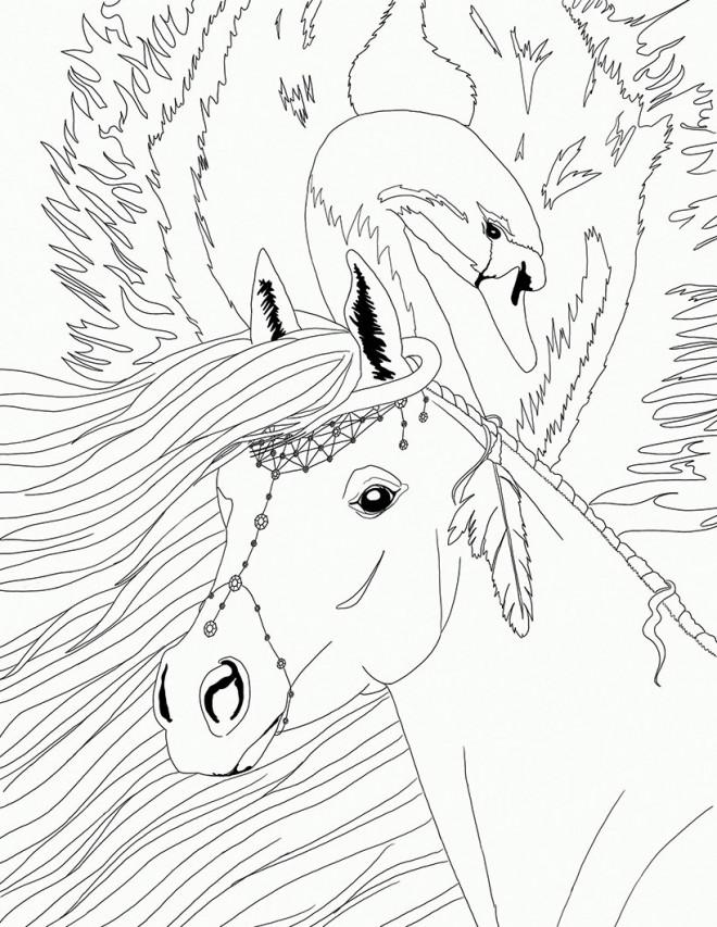 Coloriage et dessins gratuits Bella Sara Fiona à imprimer