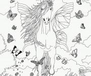 Coloriage et dessins gratuit Bella Sara gratuit à imprimer